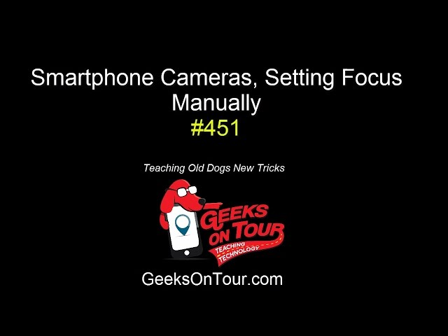 How to Manually Set Focus on your Smartphone