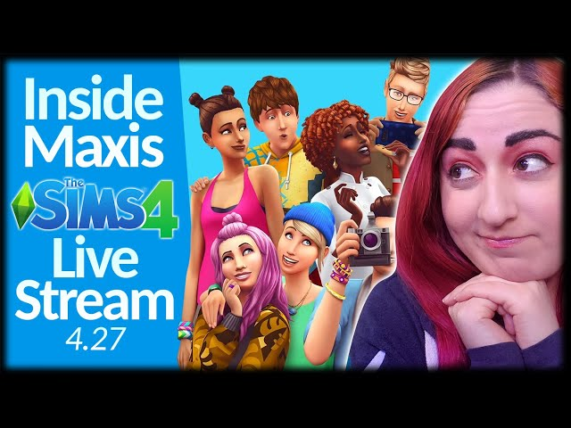 🌟Inside Maxis 4/27 Livestream // My Reaction & Info About the Next Pack??