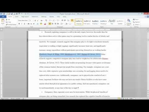 APA Style: In-text Citations, Quotations, and Plagiarism