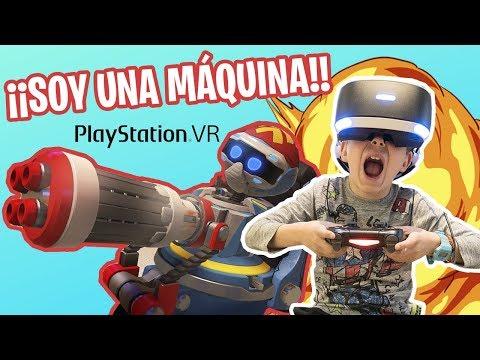 VIDEOJUEGOS para NIÑOS de REALIDAD VIRTUAL // Carlitos gamer