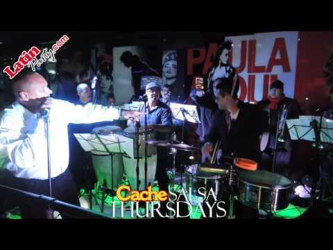 Tito Puente Jr. Ran Kan Kan - Cache Salsa Thursdays - LatinParty.com