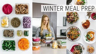 Meal prep for winter - it's finally here! with 10 ingredients create a variety of healthy recipes and hearty meals including warm salads, spicy breakfasts, f...