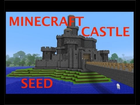 MINECRAFT CASTLE + AWESOME SEED - YouTube