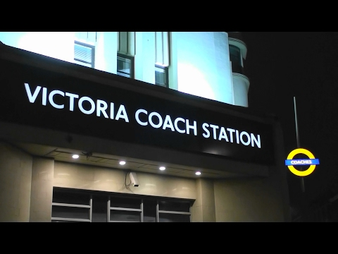Directions From London Victoria Coach Station To London Victoria Train Station ( Night Time )