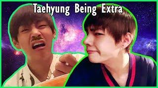 😆 BTS TAEHYUNG Being EXTRA | Bangtan Boys thumbnail