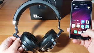 Bluedio T3 Plus Unboxing & Full Review (English)