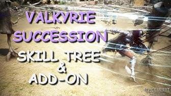 VALKYRIE SUCCESSION - SKILL TREE & ADD-ON [Black Desert Online]