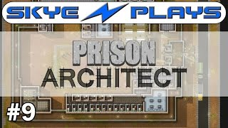 Prison Architect Part 9 ►Solitary and Segregation!◀ Gameplay/Tutorial (Alpha 34/35)