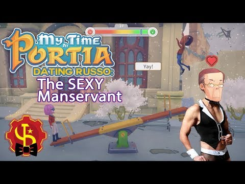 My Time At Portia - Dating Russo, The Mayor's Sexy Manservant - Stream Highlight