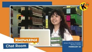 Knowledge Chatroom | EDSA People Power Revolution