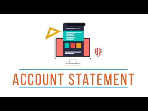 Lazada's New Account Statement
