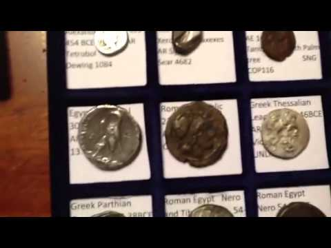 My decent ancient coin collection