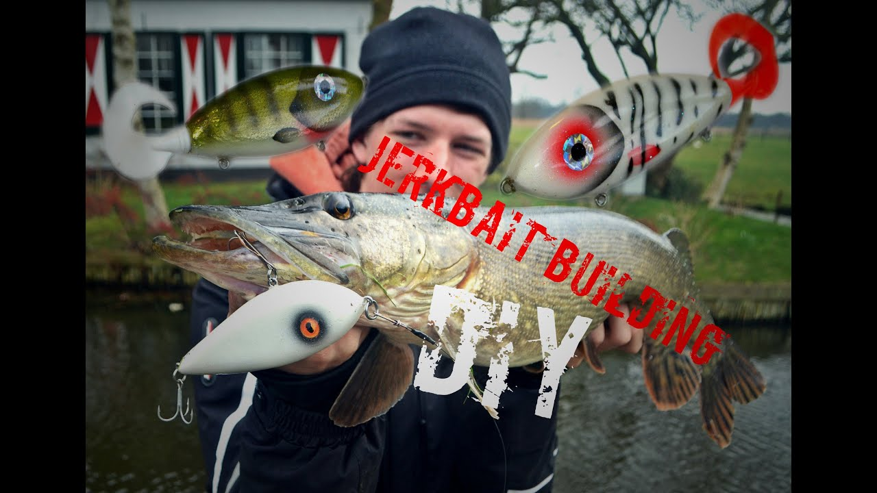 Diy make your own jerkbait catching fish with it for Create your own fish