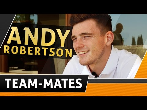 Team-Mates | Andy Robertson