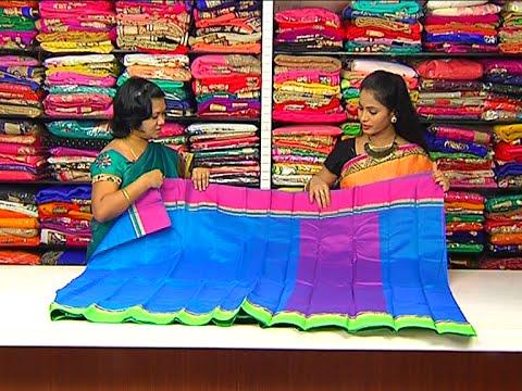 cfa47e3ecf Latest Collections of Lightweight Pattu, Fancy and Designer Sarees || Hello  Ladies || Vanitha TV