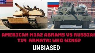 AMERICAN M1A2 ABRAMS  vs RUSSIAN T14  ARMATA: WHO WINS?