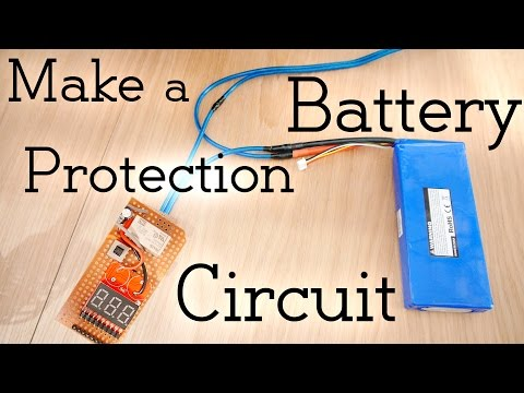 How to Make a Battery Protection Circuit (over-discharge protection)