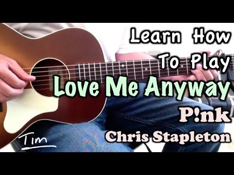 You love me anyway piano chords