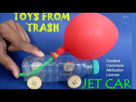 Jet car english youtube for Best out of waste models