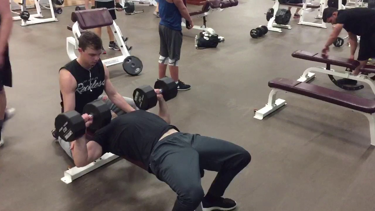 Correct Form For Dumbbell Bench Press Youtube