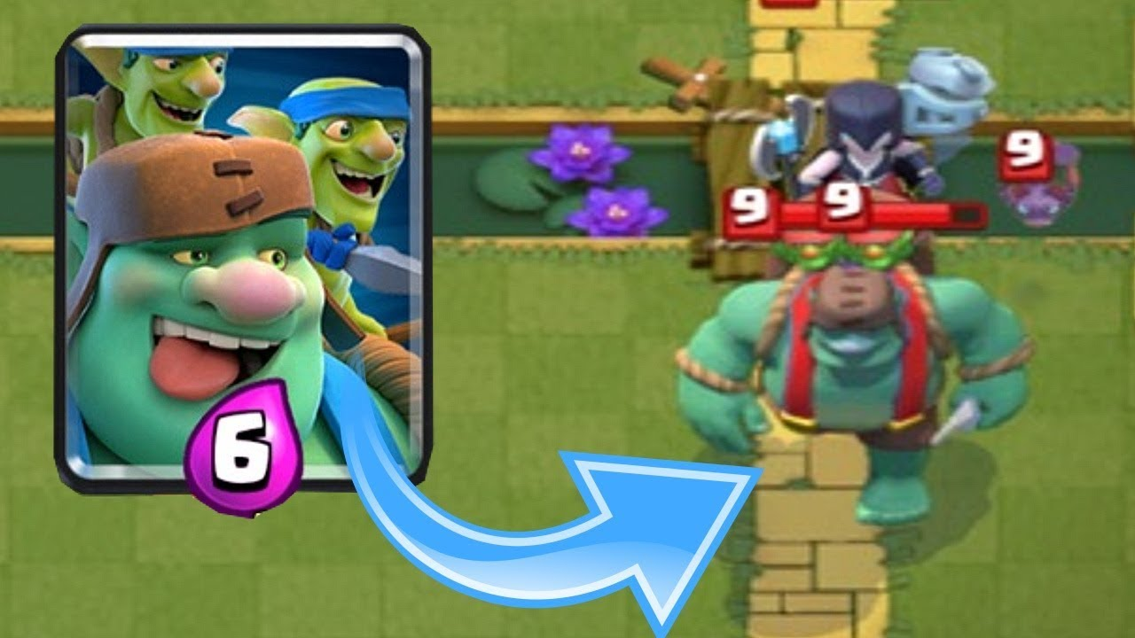NEW GIANT GOBLIN!! Clash Royale!! How does he work?
