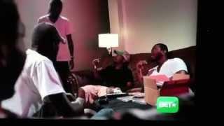 Meek Mill slap bull clip from BET Streets