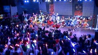 2014年12月31日午後11時、秋葉原の常設劇場P.A.R.M.Sで仮面女子カウント...