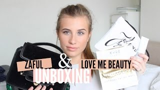 BLOGGER MAIL ZAFUL LOVE ME BEAUTY UNBOXING PHOEBE SLEE