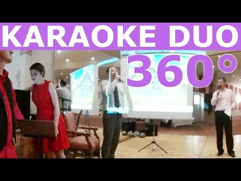 360° KARAOKE Live Chinese Wedding Singer Samsung Gear 360 VR