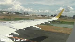 Cebu Pacific Air Airbus A321-211   5J 391   RP-C4113   Manila to Cagayan de Oro - Full Flight