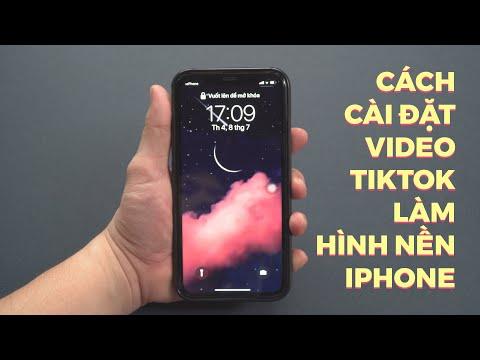 Cách cài đặt video Tiktok làm hình nền iPhone