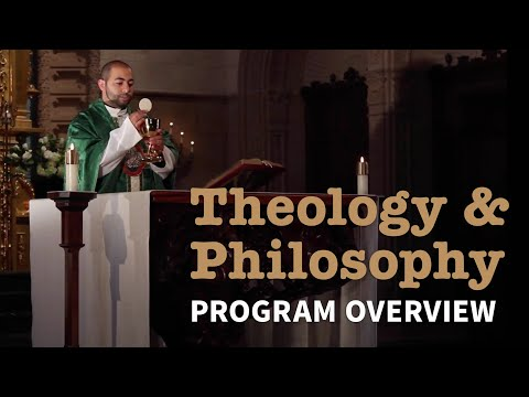 Theology & Philosophy: Program Overview