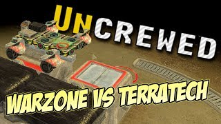 Uncrewed Singleplayer Gameplay  ► TERRATECH VS WARZONE 2100