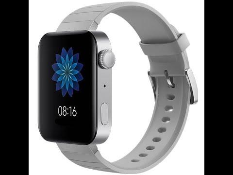 Xiaomi Mi Watch Official Video ESIM 4G LTE WiFi GPS + NFC