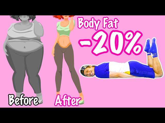 [1日1回] うつ伏せで世界一簡単に脂肪を減らす神ダイエット!毎日寝たまま出来ます!
