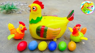 Cute hens with good friends - Toys for kids G658U ToyTV