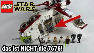 Ein schlechtes Remake? 🤔 | LEGO Star Wars 75021 Republic Gunship Review!