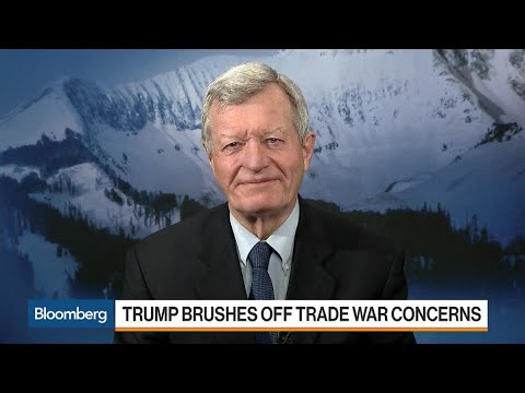 Max Baucus Says Tariffs Won't Slow Down `Made in China 2025'