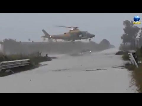 فيضانات عارمة جنوب إيطاليا ، كروتوني ، كالابريا