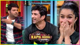 Kapil Sharma FUNNY COMEDY With Sushant Singh Rajput, Shraddha Kapoor   Team Chhichhore