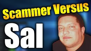 Scammer Versus Sal | RAGE QUIT | Tech Support Scammers EXPOSED!