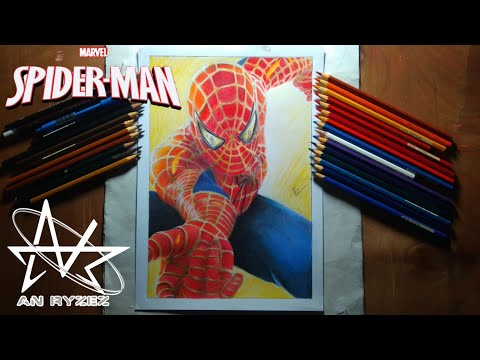 marvel-:-spiderman-(peter-parker)---speed-drawing-||-anryzez
