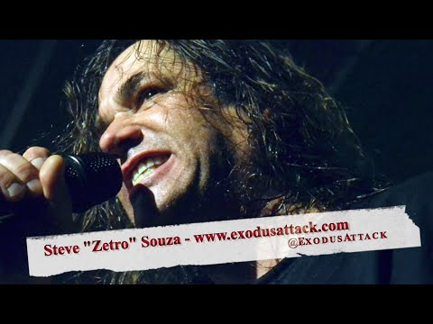"EXODUS' Steve ""Zetro"" Souza: NEW Album 'Blood In, Blood Out', Rejoining the Band & Future Plans!"