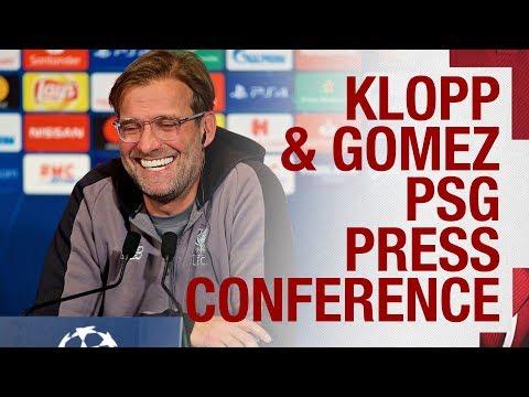 Pre-PSG Champions League press conference | Jürgen Klopp & Joe Gomez