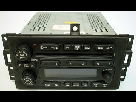 04-08 Pontiac Grand Prix – Remove or replace the stock radio head unit