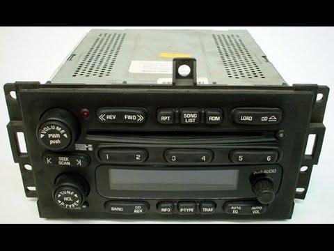2006 pontiac grand prix radio locked