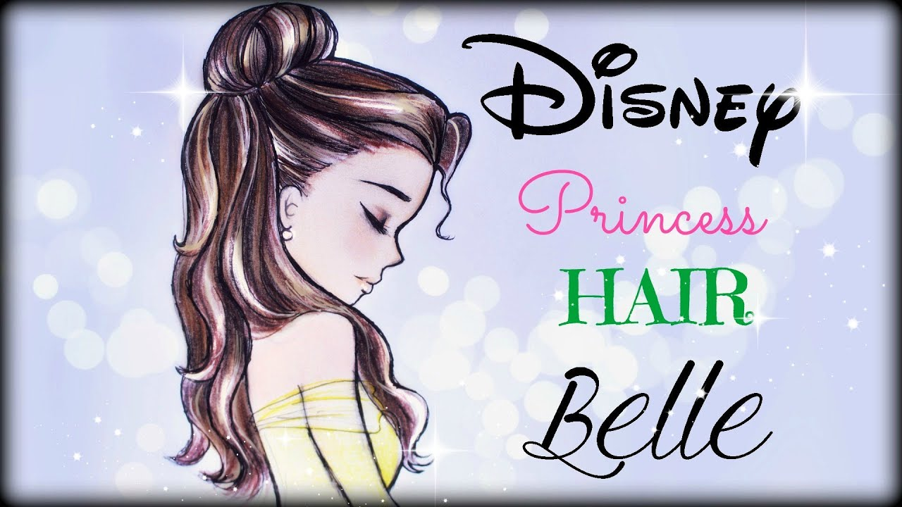 draw and color disney princesses