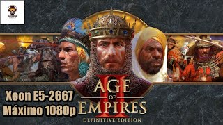 Age of Empires II HD Definitive Edition Teste Xeon E5 2667 60FPS