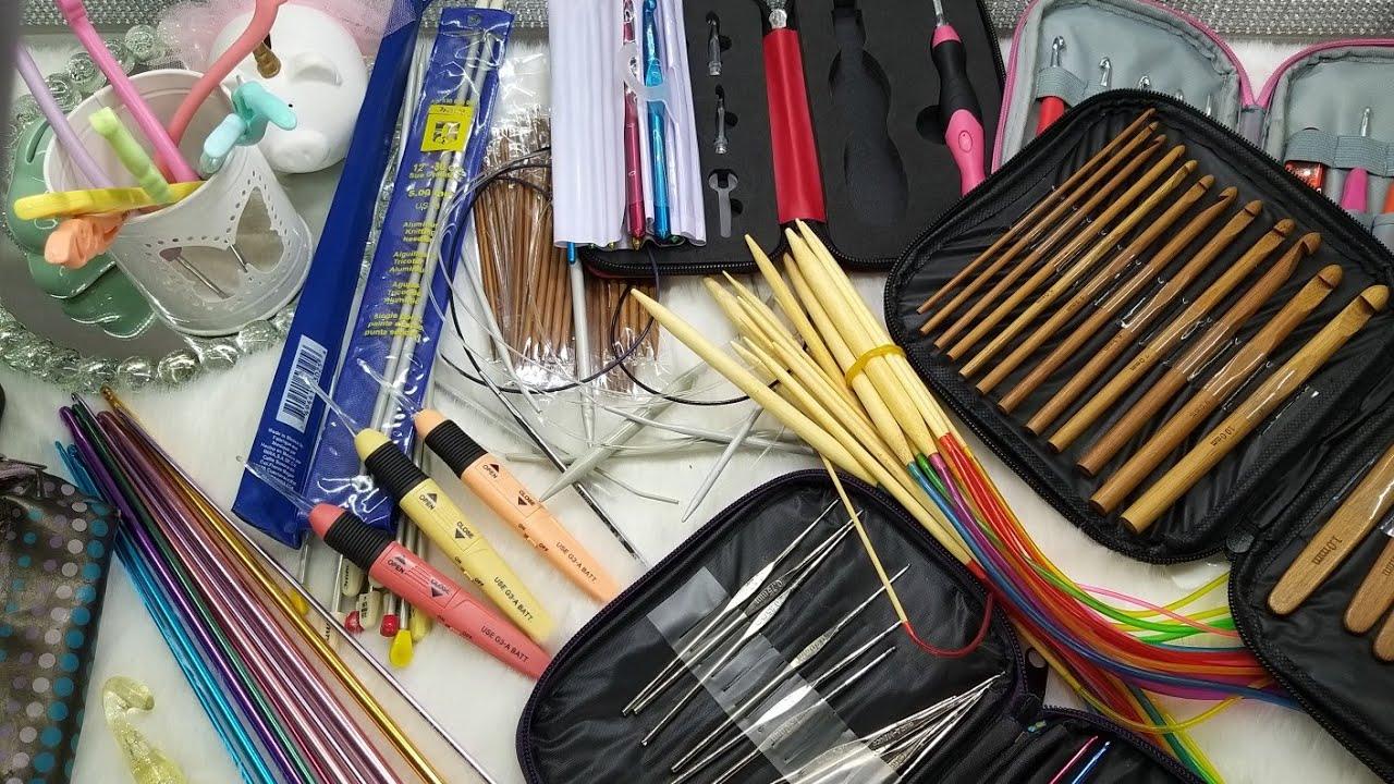 Mi colección de ganchos y agujas