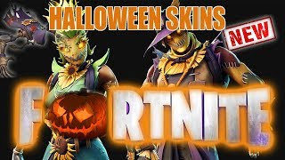 NEW HALLOWEEN SKINS / FORTNITE
